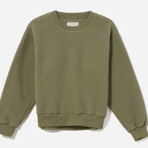 Everlane ReNew Fleece Sweatshirt in Surplus